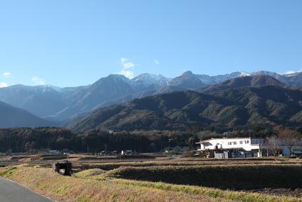 中央アルプス(越百~南駒ヶ岳)