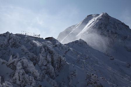 赤岳展望荘と赤岳