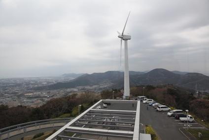 田原市蔵王山 頂上からの展望