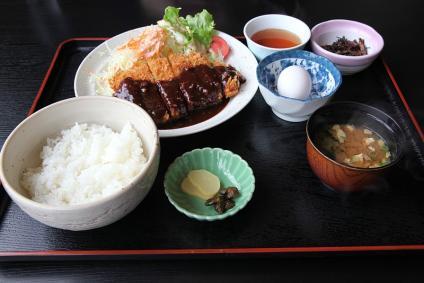 道の駅「めっくんはうす」 味噌カツ定食