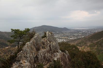 滝頭公園 滝頭山からの展望