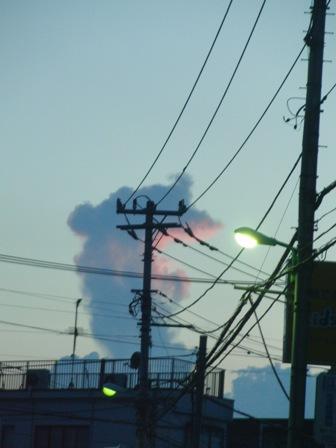 8.25変な雲