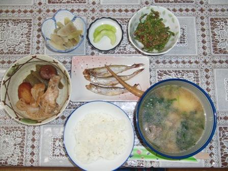 8.31夕食