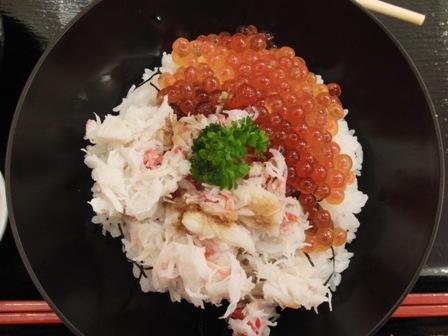 9.4カニ・イクラ丼