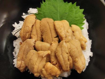 9.4ウニ丼ハーフ