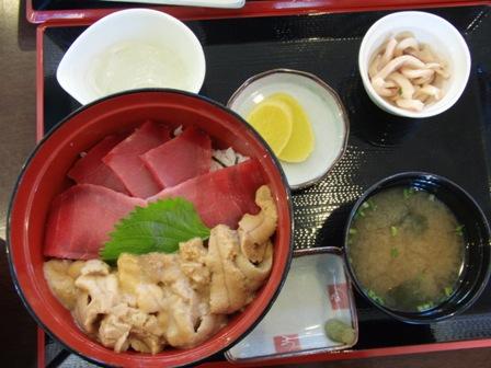 9.4マグロ・ウニ丼