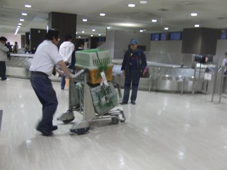 10.28成田空港にて1