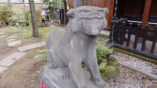内藤狛犬1