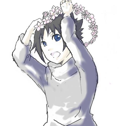 コピー ~ コピー ~ 仔サスケ(花冠)
