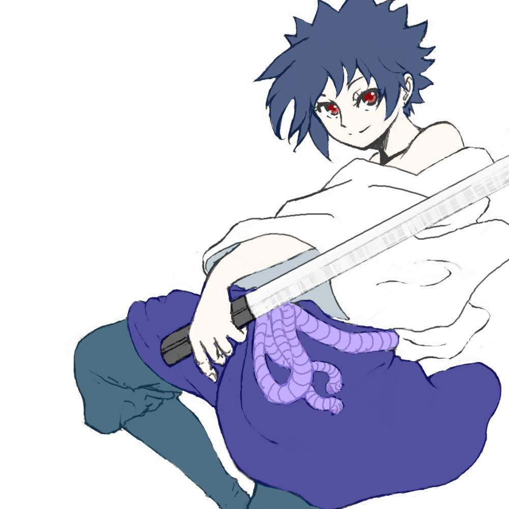 コピー ~ サスケ(草薙の剣)着色