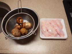 手羽先と里芋の炒め煮04