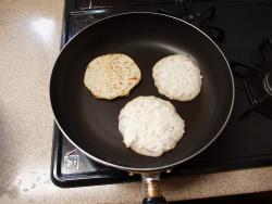 キーマカレー鶏パン粉焼き14