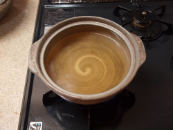 鶏ごぼう鍋09