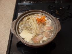 鶏ごぼう鍋10