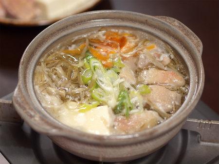 鶏ごぼう鍋37