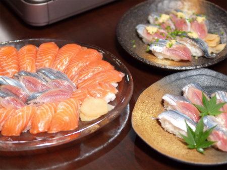 さんま握り寿司34