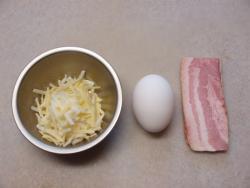 チーズベーコンエッグ01
