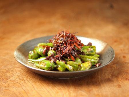 じゃんぼシシトウと牛肉の甜麺14