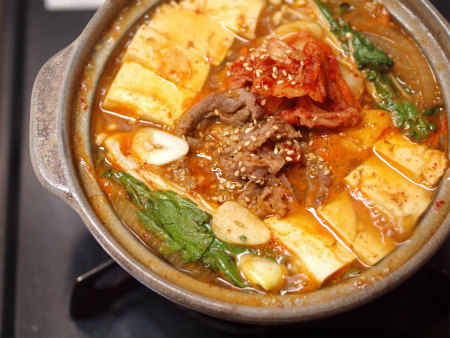 キムチ牛鍋26