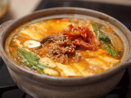 キムチ牛鍋22