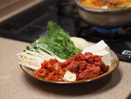 キムチ牛鍋23