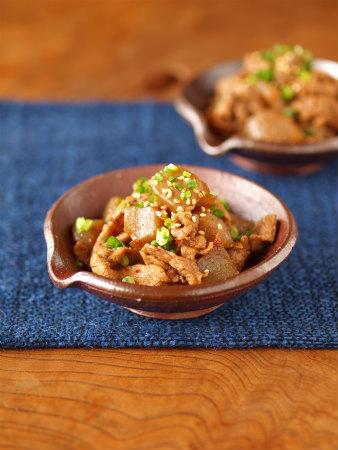 牛肉とこんにゃくのピリ辛炒め23