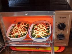 餃子チーズ焼き15