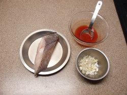 カラスガレイチリソース煮04