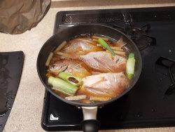 連子鯛煮付け26