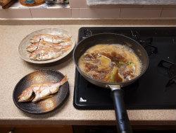 連子鯛煮付け31