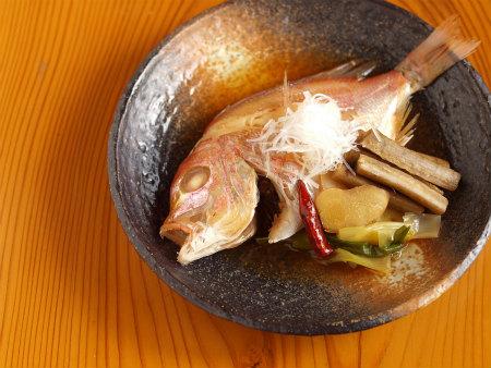 連子鯛煮付け52