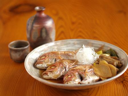 連子鯛煮付け64