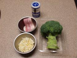 ブロッコリーとベーコンの焼きサ01