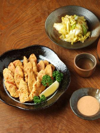 ギョニソ-フリッター酢キャベツ22