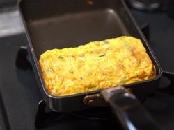 ツナとチーズのたまご焼き03