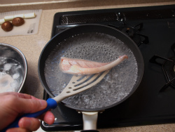 赤魚煮付け蕎麦09