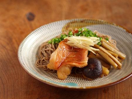 赤魚煮付け蕎麦28