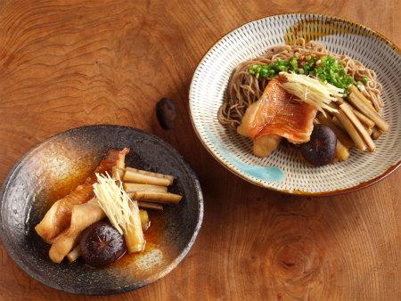 赤魚煮付け蕎麦50