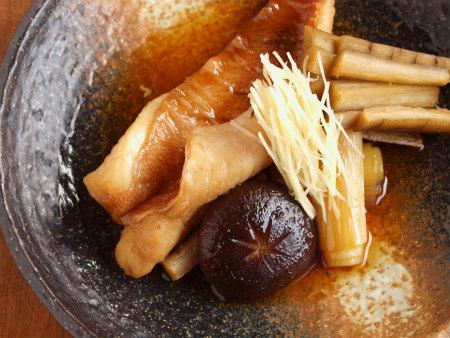 赤魚煮付け蕎麦41