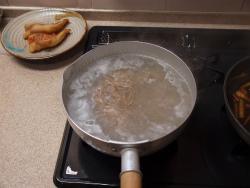 赤魚煮付け蕎麦25