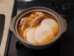 大根とキムチの鍋06