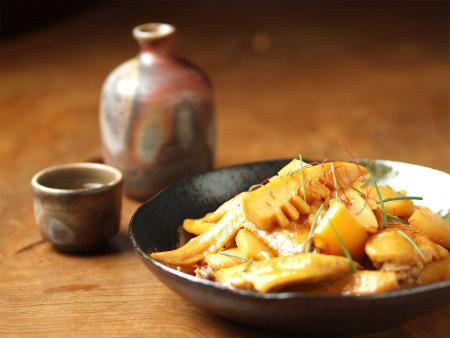 手羽先と筍の煮物29