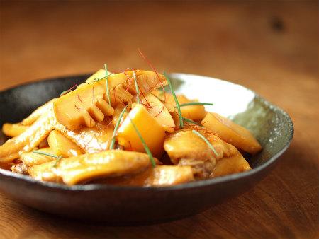 手羽先と筍の煮物27