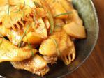 手羽先と筍の煮物23