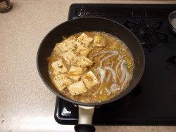 いかと豆腐の味噌煮14
