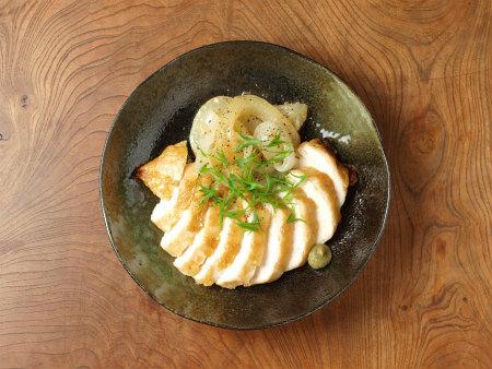 鶏むね肉の柚子胡椒焼き21