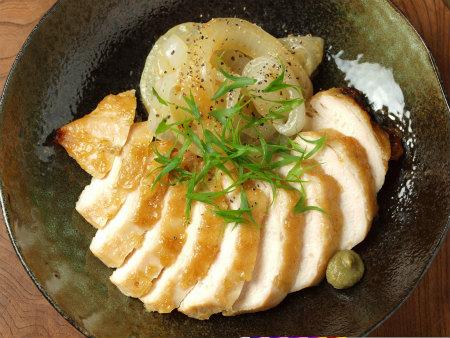 鶏むね肉の柚子胡椒焼き36