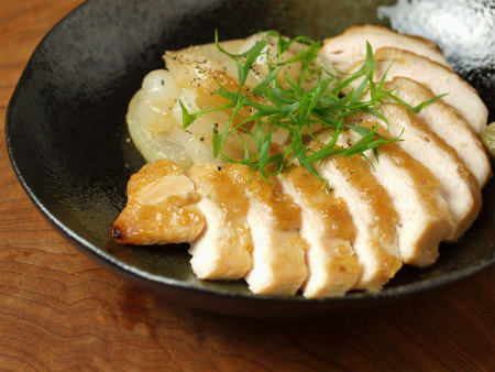 鶏むね肉の柚子胡椒焼き30