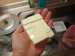 あさりと豆腐の卵とじ02