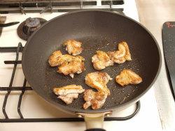 鶏もも塩焼き、新玉ぽん酢焼06